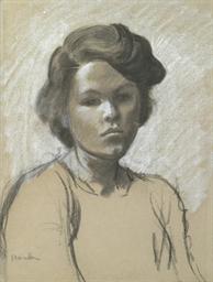Portrait de Colette, fille de