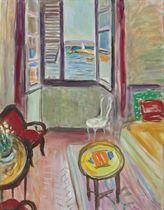La salle à manger à Saint-Tropez, fenêtre ouverte, no. 3
