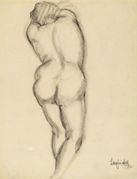 Un nu de femme de dos