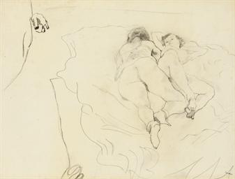Deux femmes allongées
