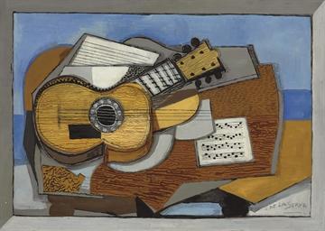 Deux guitares (Composition cub
