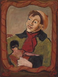 Boy with a Doll
