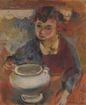 Boy with a Bowl