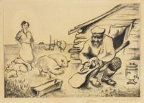 Peasants Working on the Farm