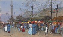 Le marché, Paris