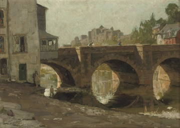 Pont de Liège te Bouillon: vie