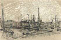 The harbour of Antwerp