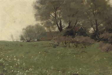 A farmhouse near Kampen