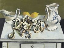 Nature morte aux huîtres: a still life with oysters