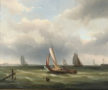 Sailing in a calm