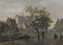 A capriccio view of Leiden