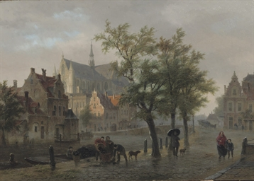 A capriccio view of Leiden