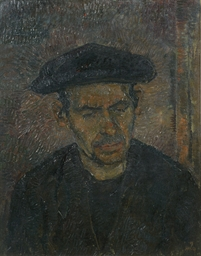 Portrait of a French farmer