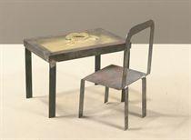 Tafelknoop met stoel