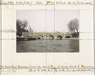 The Pont Neuf, Wrapped (Projec