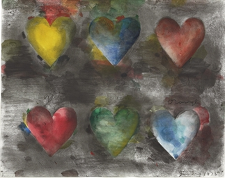 Untitled (Six Hearts)