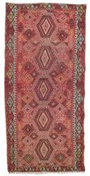 An antique Anatolian kilim