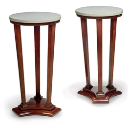 A PAIR OF FRENCH CHERRY WOOD O