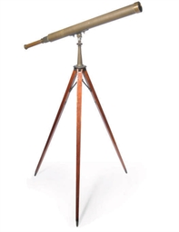 A TELESCOPE ON STAND