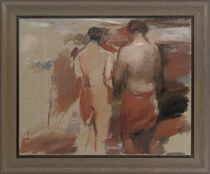 Study for Landscape with Figures: Women of Troy