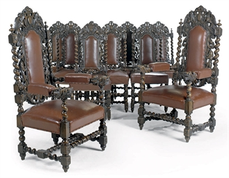 A SET OF TEN LATE VICTORIAN CA