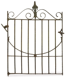 A WROUGHT-IRON GATE