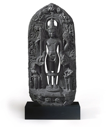 A Large blackstone of Vishnu