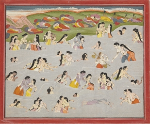 A painting from the Harivamsa