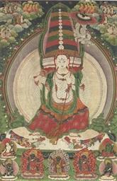 A thangka of Sitatapatra