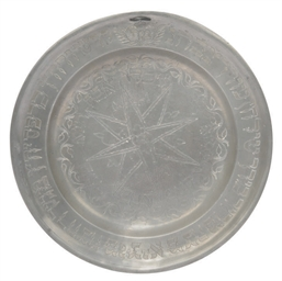 A DUTCH OR FRENCH PEWTER PASSO