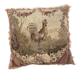 A TAPESTRY CUSHION
