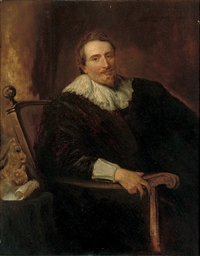 Portrait of Andreas Colyns de
