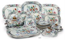 A SPODE STONE CHINA PART DINNER-SERVICE