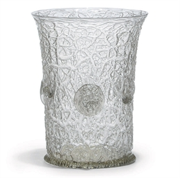 AN 'ICE-GLASS' BEAKER