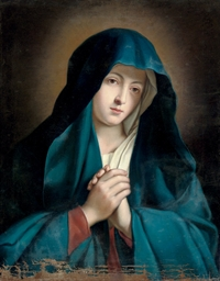 The Madonna at prayer
