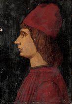 Portrait of a gentleman, bust-length, in profile