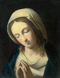 The Madonna at prayer