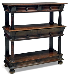 A CHARLES II WALNUT AND LIGNUM