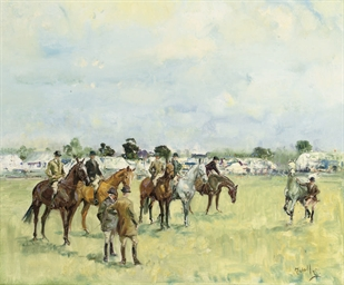 Trotting up, A County Show