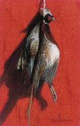 A brace of pheasant