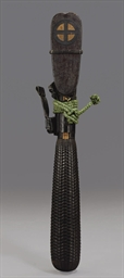A lacquered arrow quiver (utsu
