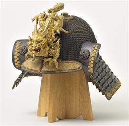 A sixty-two-plate hoshi kabuto