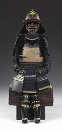 Suit of armor with a nanban-st