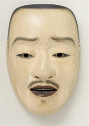 Noh Mask of Imakawa (Young Man
