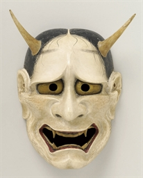 Noh Mask of Shiro Hannya (Whit