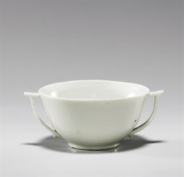 A Small White Porcelain Cup