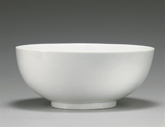A Deep White Porcelain Bowl