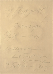 Cy Twombly Drawings 1954-1956