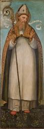 Saint Bonaventure en évêque