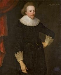Portrait d'homme en pied